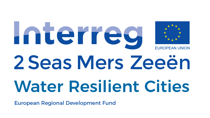 Europees interreg 2 zeeën project Water Resilient Cities